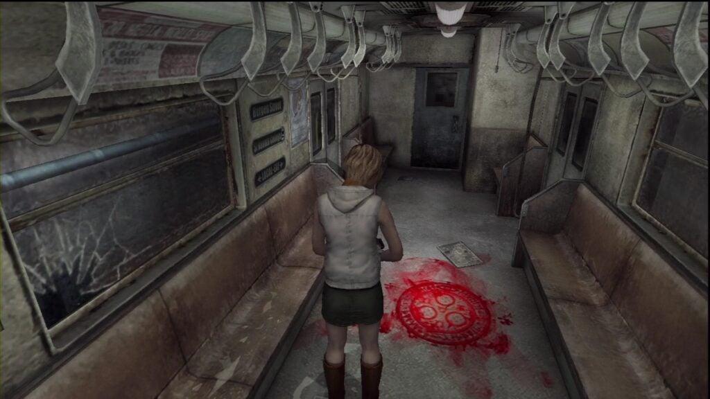 Silent Hill 3 subway