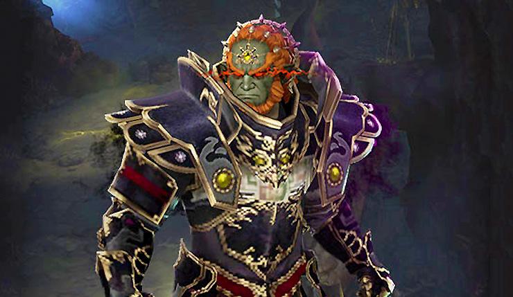 Diablo III eternal collection ganondorf Switch