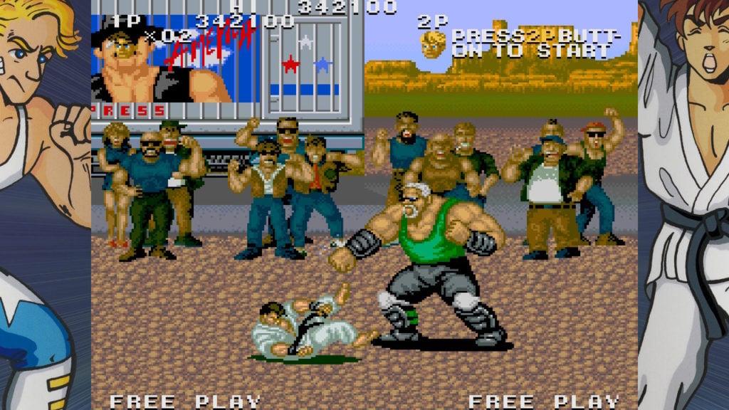 SNK retro game