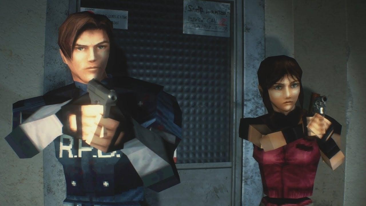 Resident Evil 2 1998 original Playstation Game