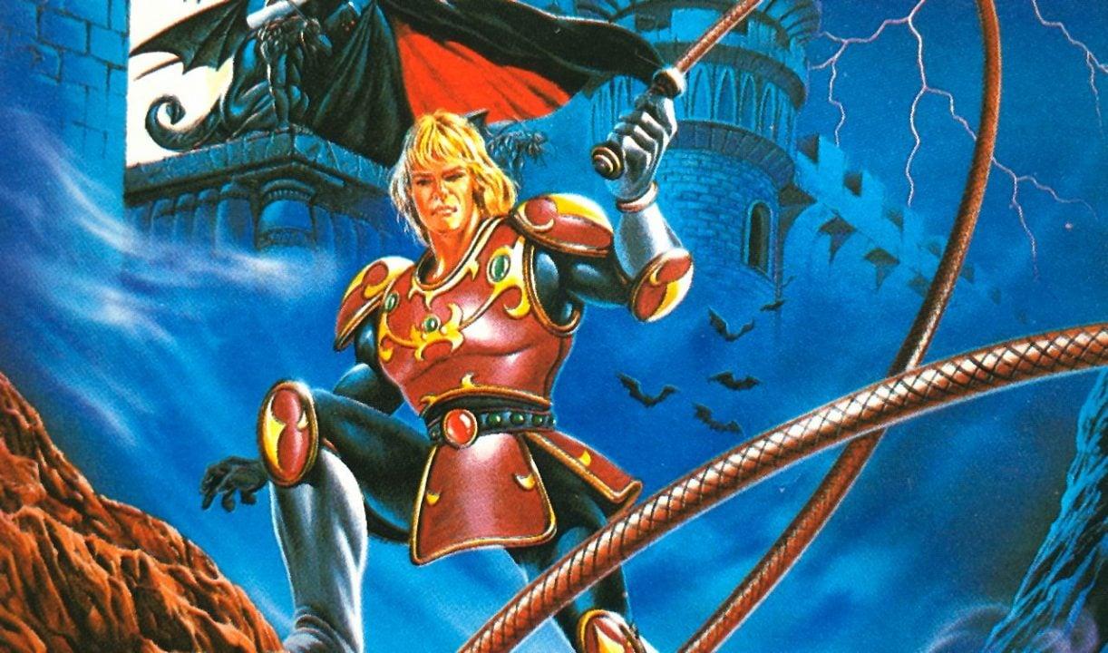 Castlevania II Simon's Quest.