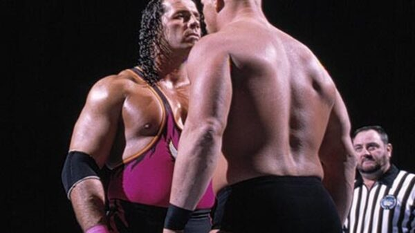 Bret the Hit Man Hart vs. Stone Cold Steve Austin Survivor Series 1996