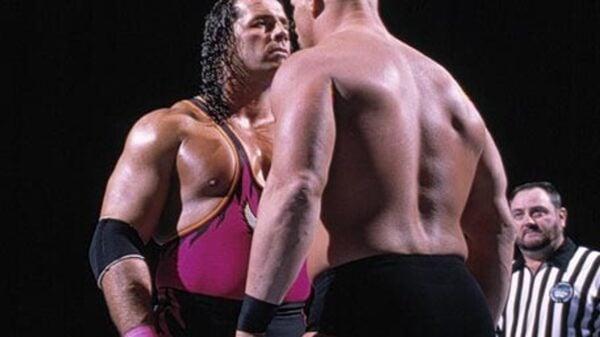 Bret the Hit Man Hart vs. Stone Cold Steve Austin Survivor Series 1996