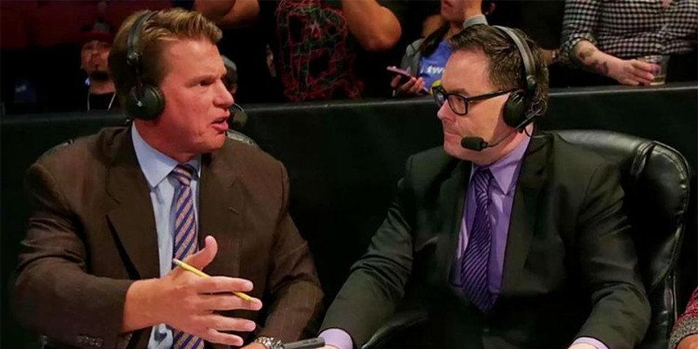 Mauro Ranallo with JBL
