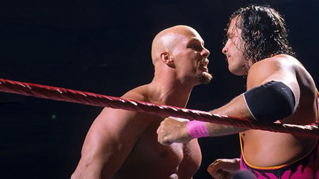 bret hart vs steve austin survivor series 1996