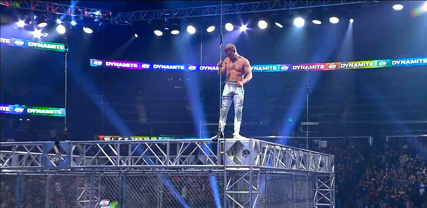 AEW Dynamite Steel Cage Match