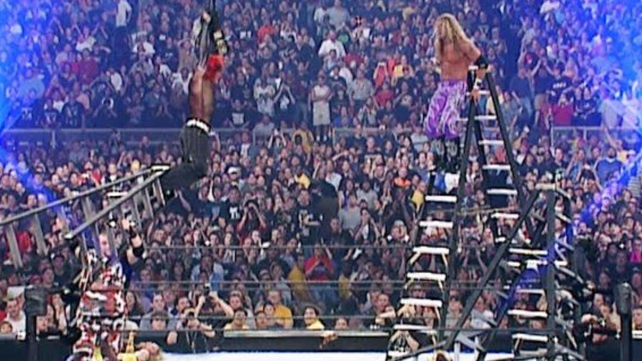 Wrestlemania Dudley Boyz vs. Edge and Christian vs. The Hardy Boyz