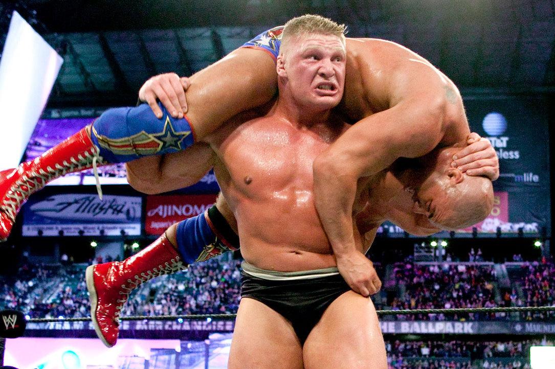 The Best Wrestlemania Matches: Kurt Angle vs. Brock Lesnar