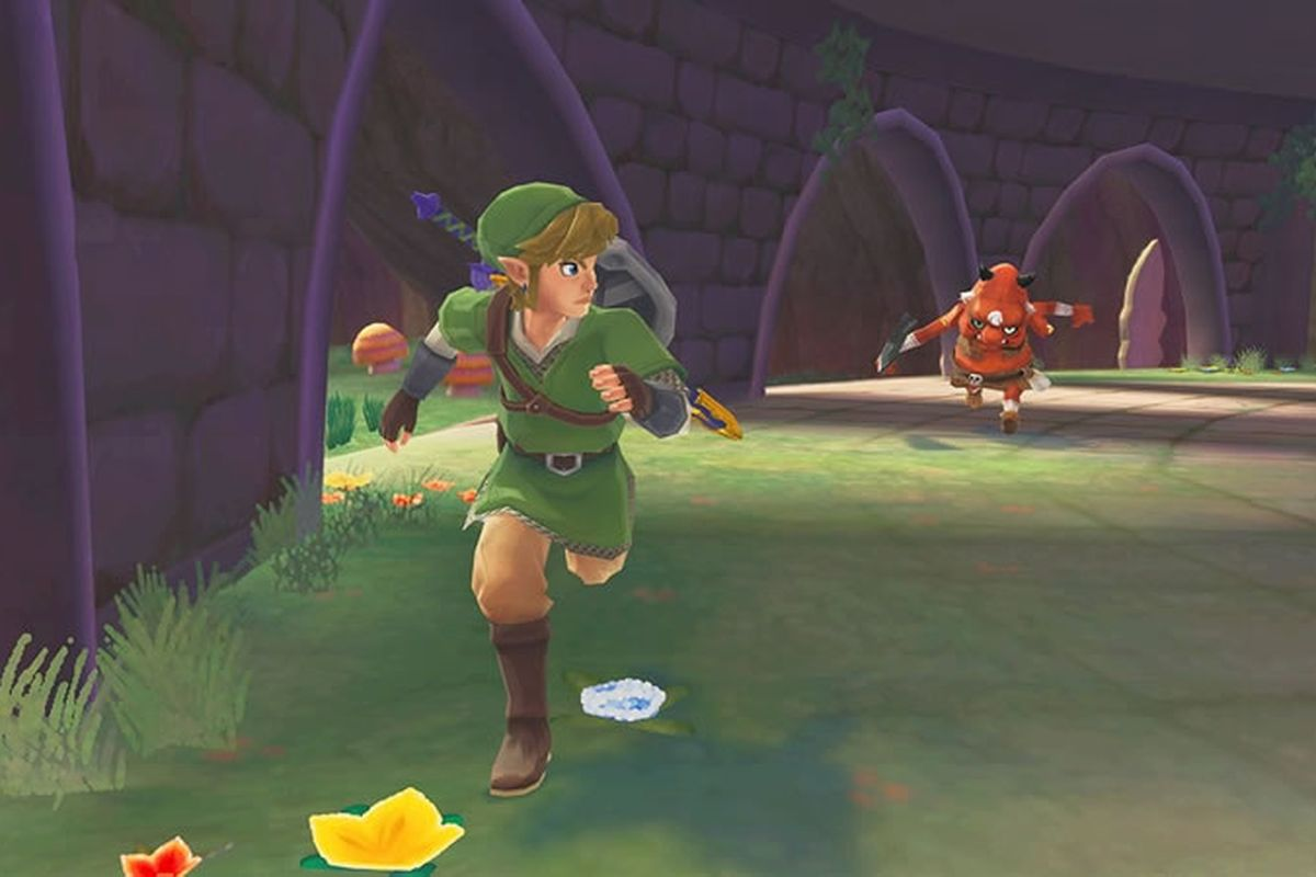 The Legend of Zelda: Skyward Sword Motion Controls