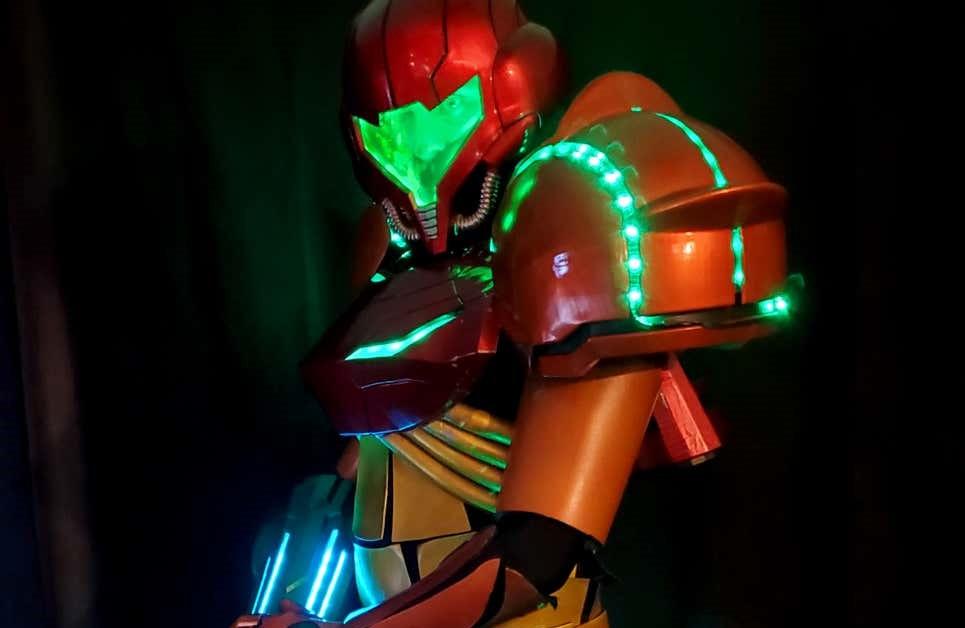 Fan's Metroid Prime Costume Brings Bounty Hunter Samus Aran To Life