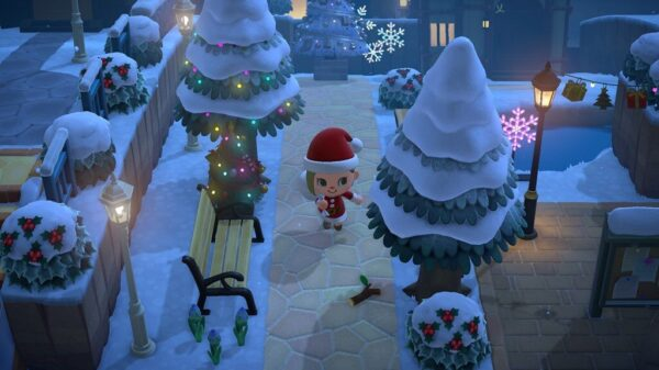 Animal Crossing New Horizons Winter Theme