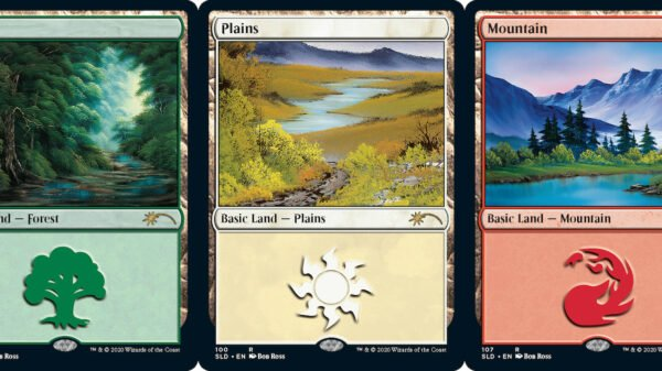 Artwork Of The Legendary Bob Ross Is Being Immortalised In Magic: The Gathering
