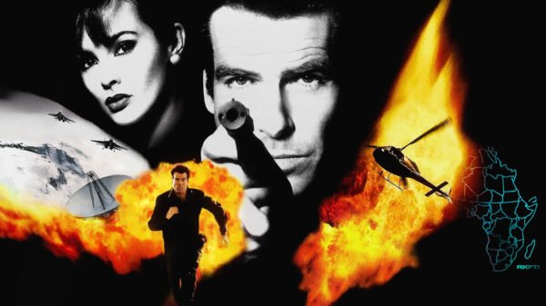 Goldeneye James Bond 007 movie at 25