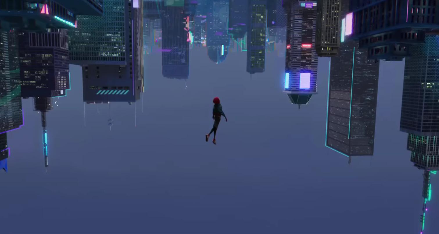 Spider-Man Leap of Faith Scene