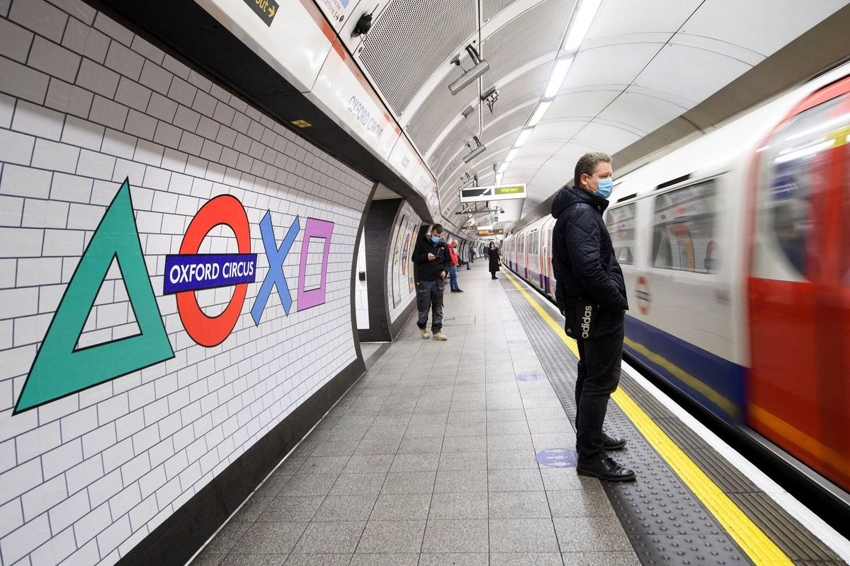 London Underground Has Been Taken Over By Sony To Celebrate The Release Of The PlayStation 5