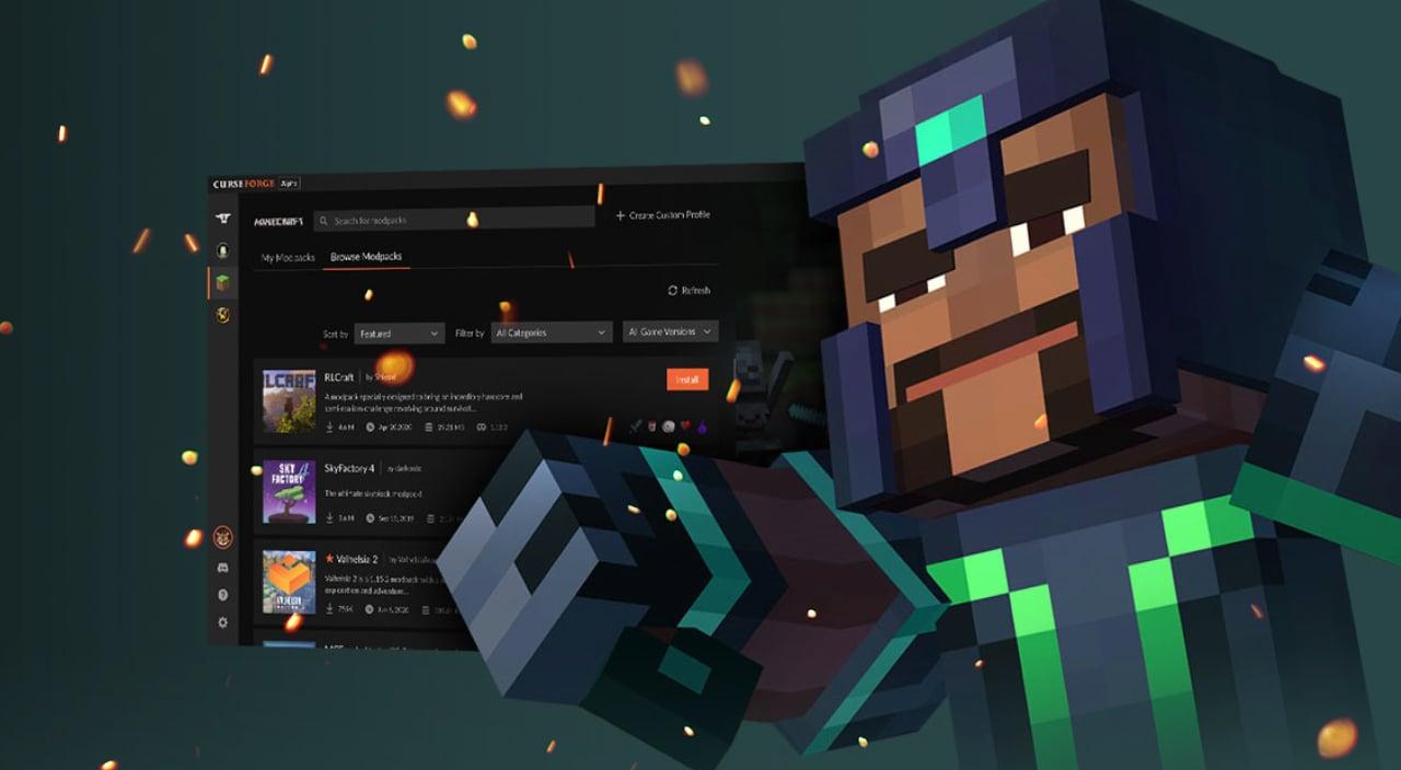 Overwolf's CurseForge App Will Include Minecraft