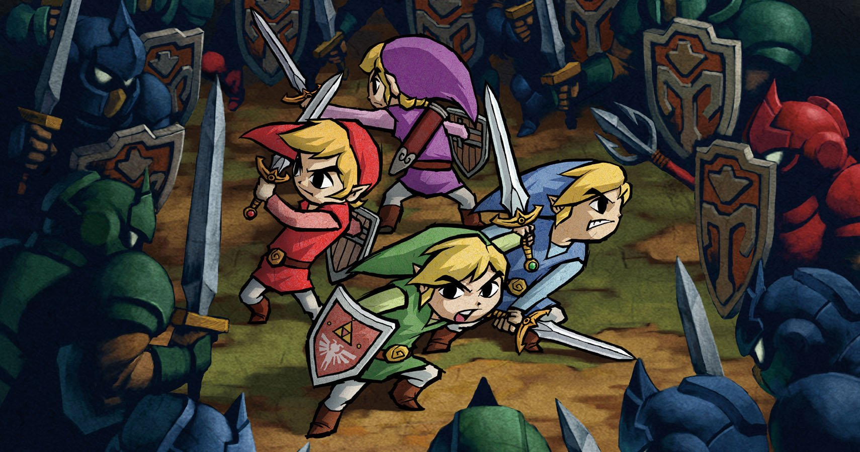 The Legend Of Zelda And The Curious Case Of Four Swords Adventures