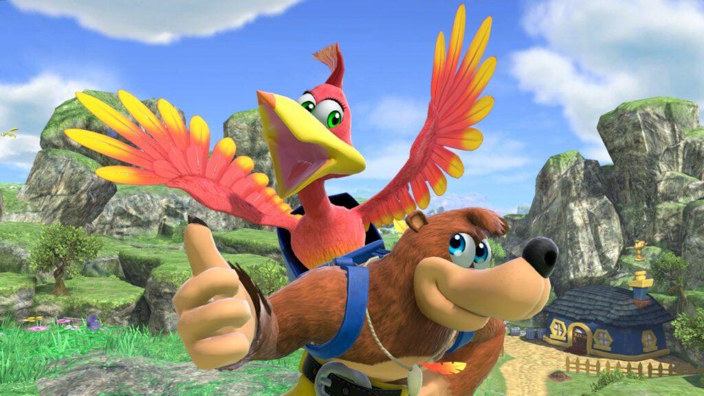 Banjo and Kazooie in Smash Bros. Ultimate