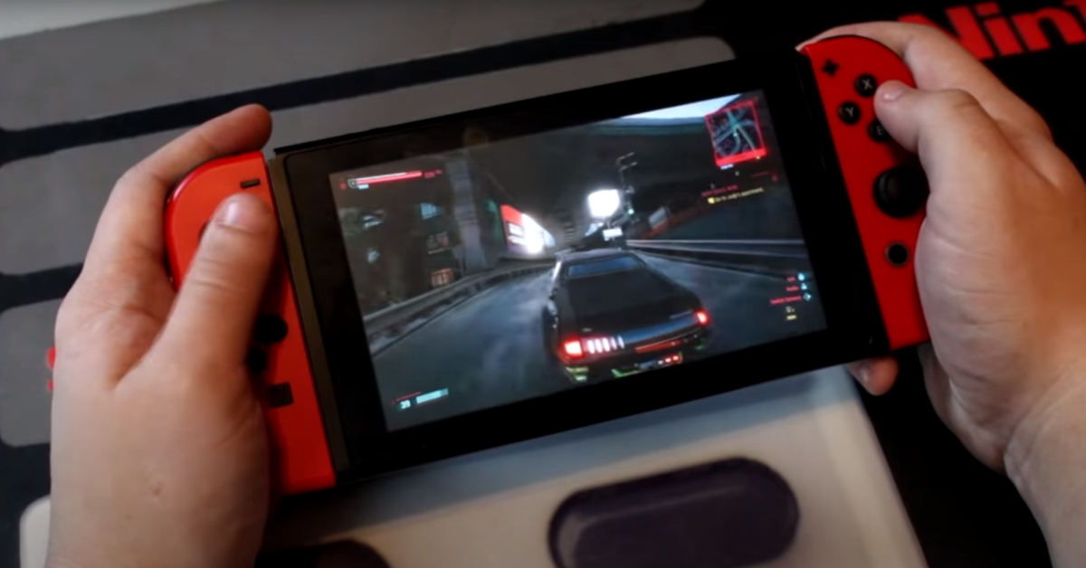 Cyberpunk 2077 Nintendo Switch
