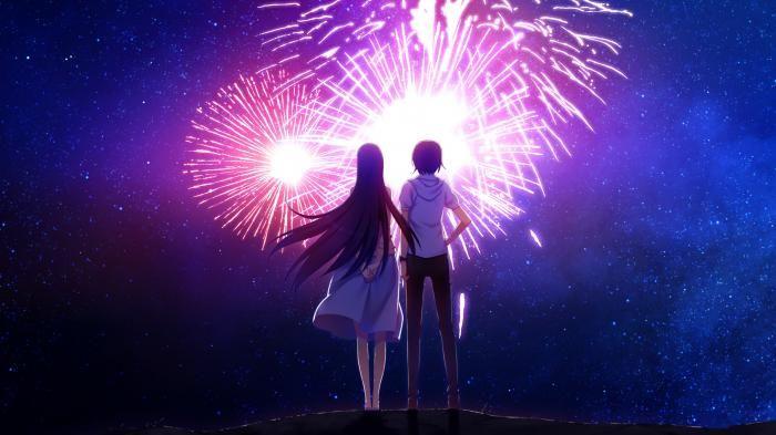 anime fireworks