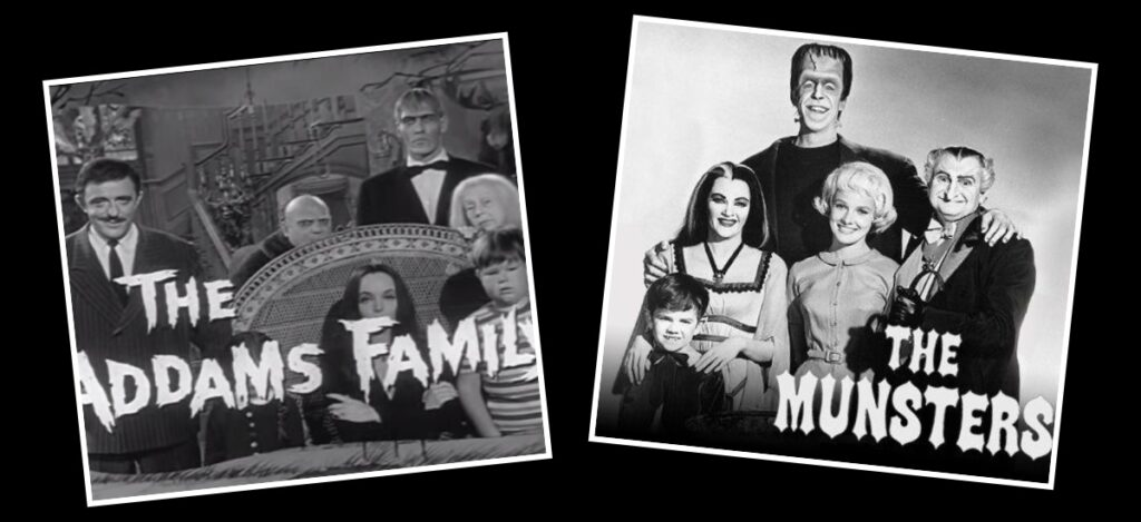 The Addams Family Meet The Munsters