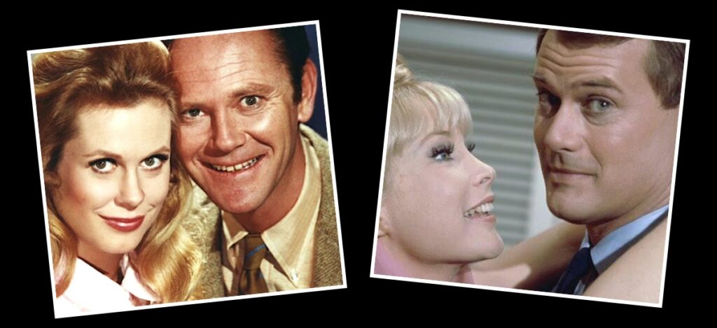 I Dream of Jeannie and Bewitched
