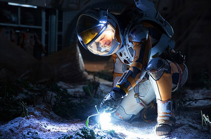 The Martian 2015 Movie Review