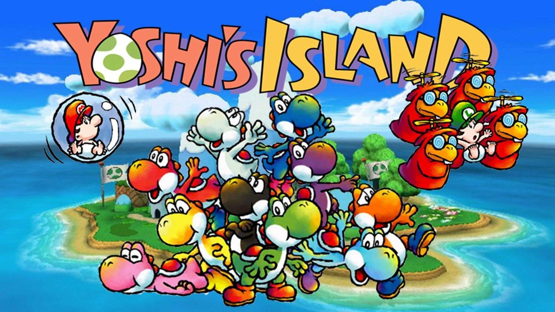 Super Mario World 2 Yoshi's Island Review
