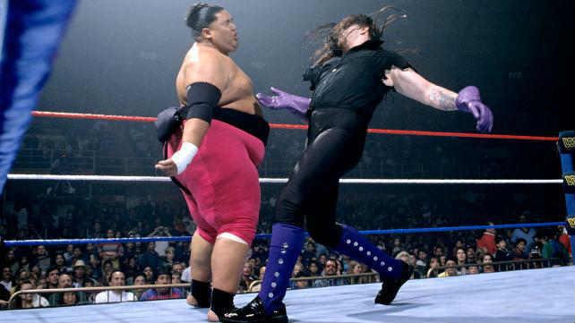 Undertaker vs Yokozuna in a Casket Match