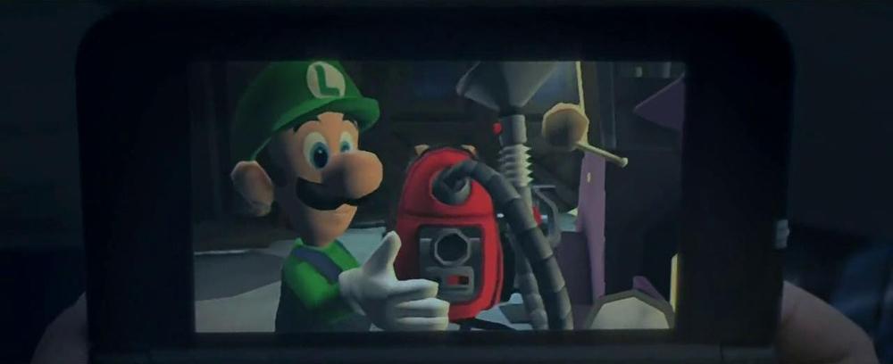 Nintendo 3DS Luigi's Mansion
