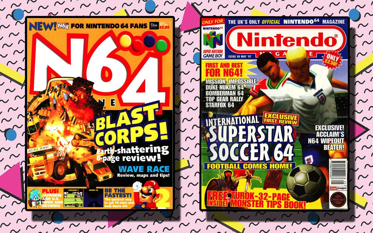 Retro Nintendo magazines