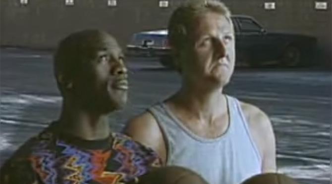 McDonald's: Larry Bird vs. Michael Jordan Showdown (1993)