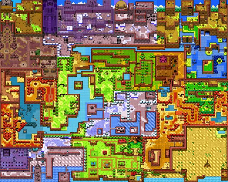 Holodrum from Zelda: Oracle of Seasons