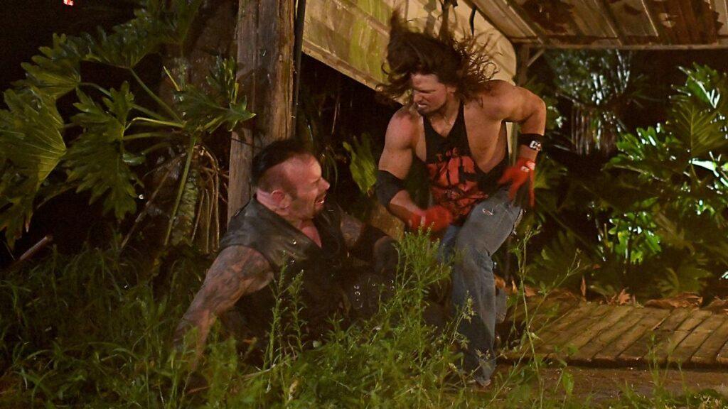 Wrestlemania XXXVI – AJ Styles Undertaker