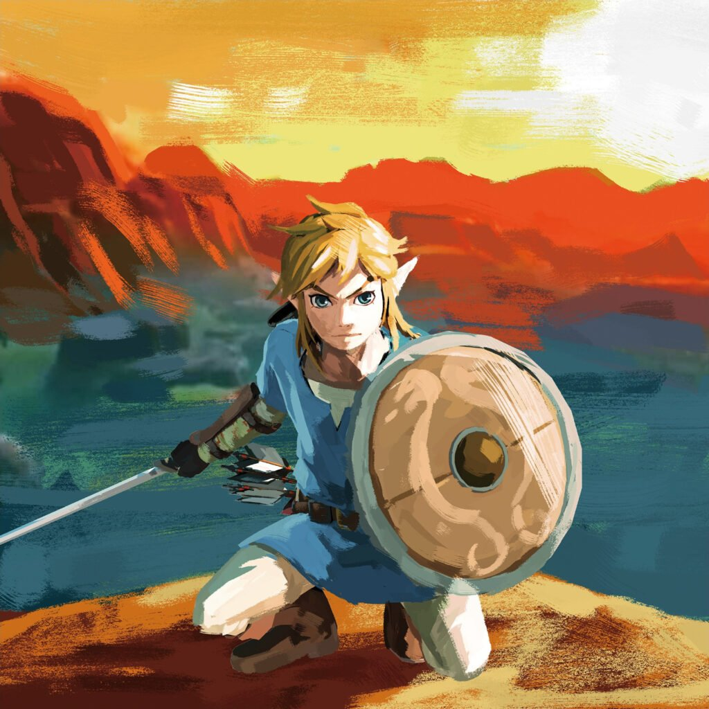 BotW Link Concept Art (image courtesy of Zelda Gamepedia)