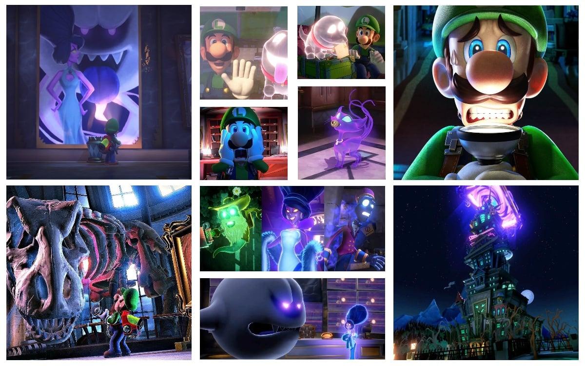 Luigi's Mansion 3 Bosses