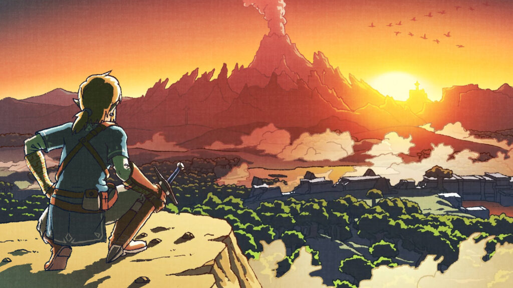 Link BotW Hyrule (image courtesy of zelda.gamepedia)
