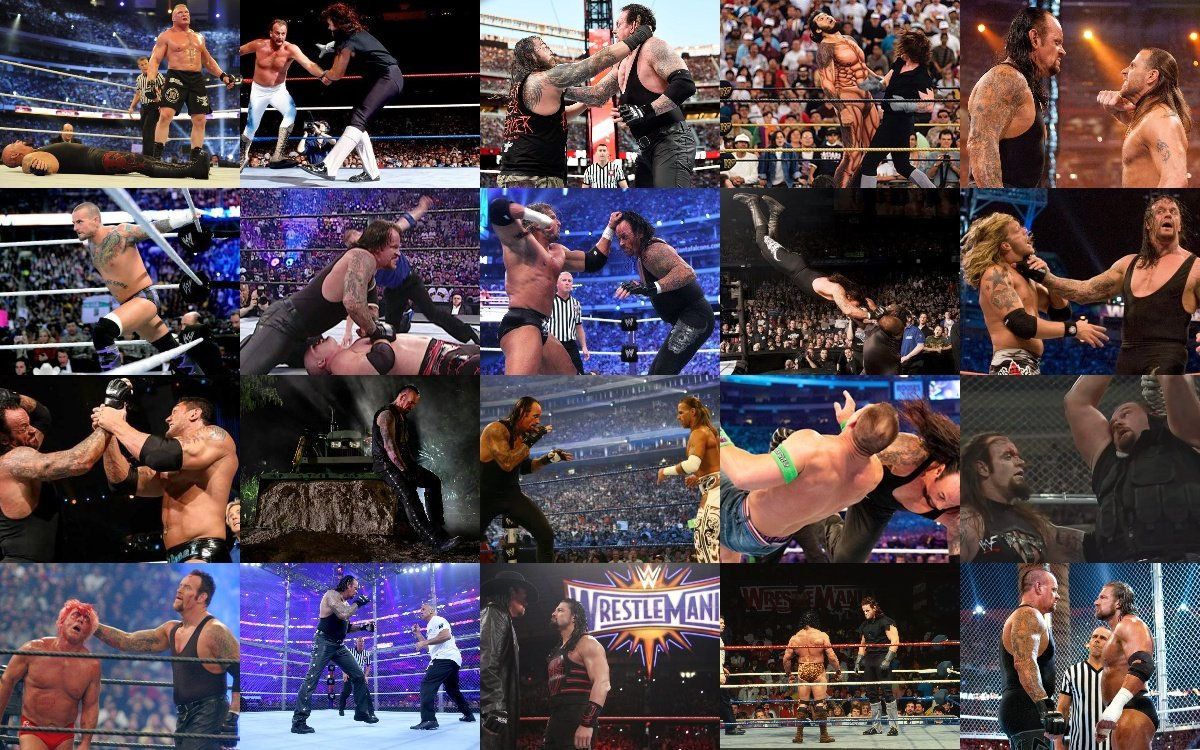 The Undertaker's Wrestlemania Matches Ranked