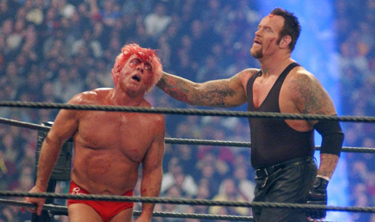 Wrestlemania X8 – Ric Flair Undertaker