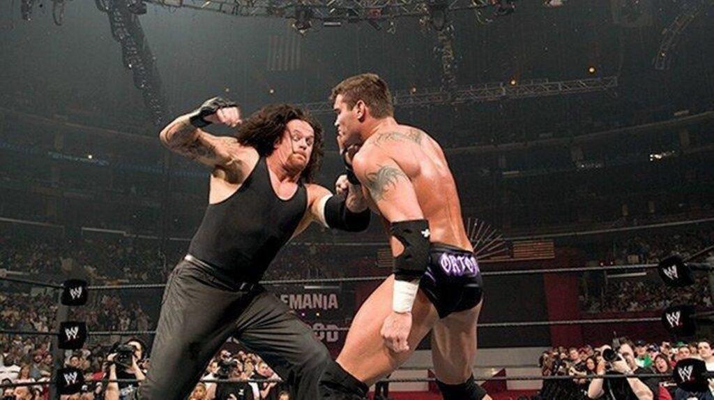 Wrestlemania XXI – Randy Orton Undertaker