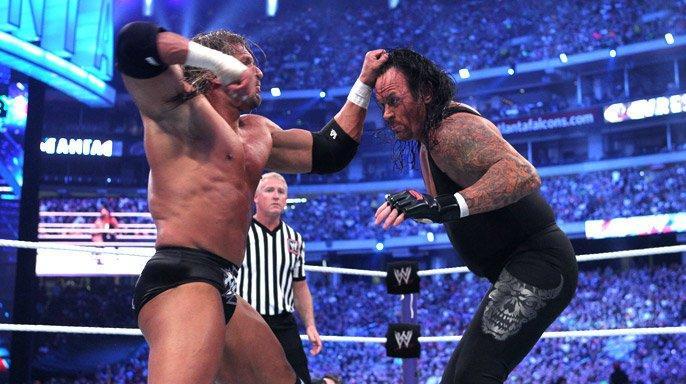 Wrestlemania XXVII – Triple H 2 Undertaker