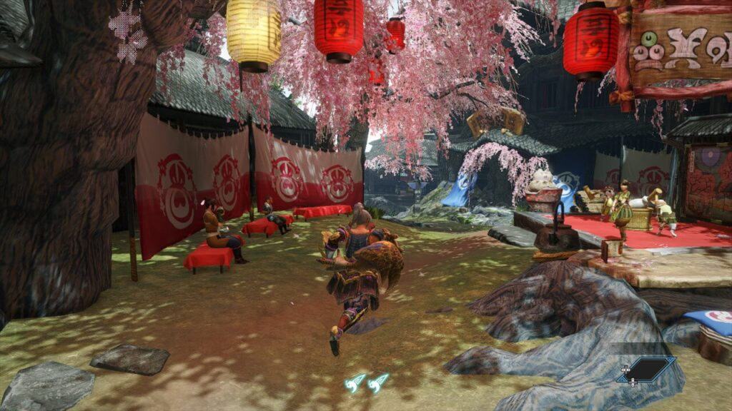 Monster Hunter Rise Kamura Village