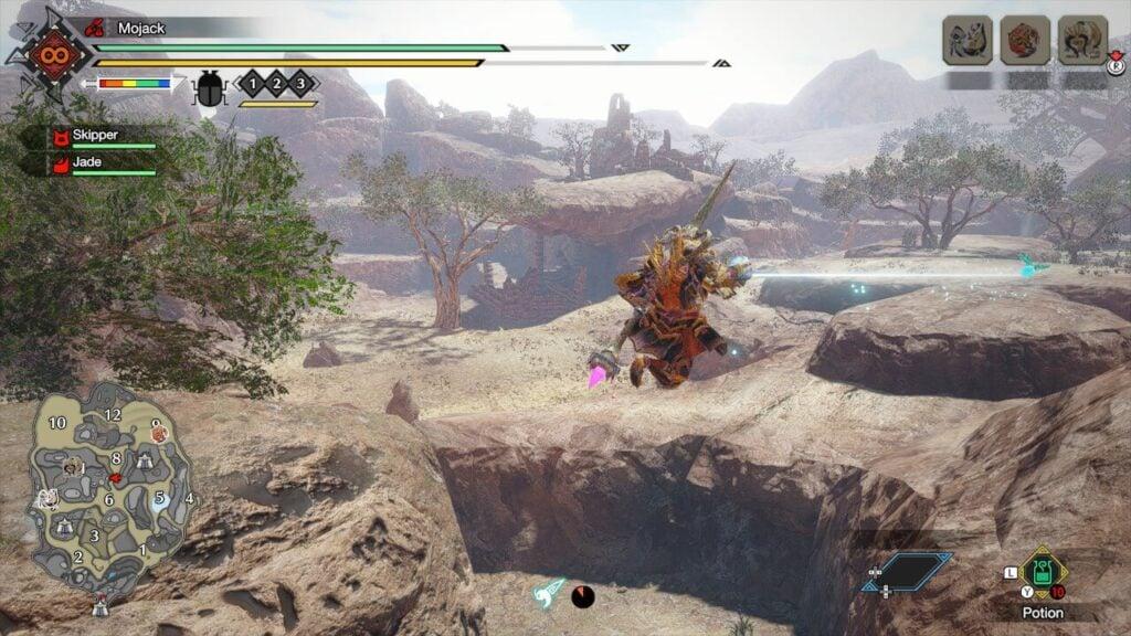 Monster Hunter Rise Wirebugs