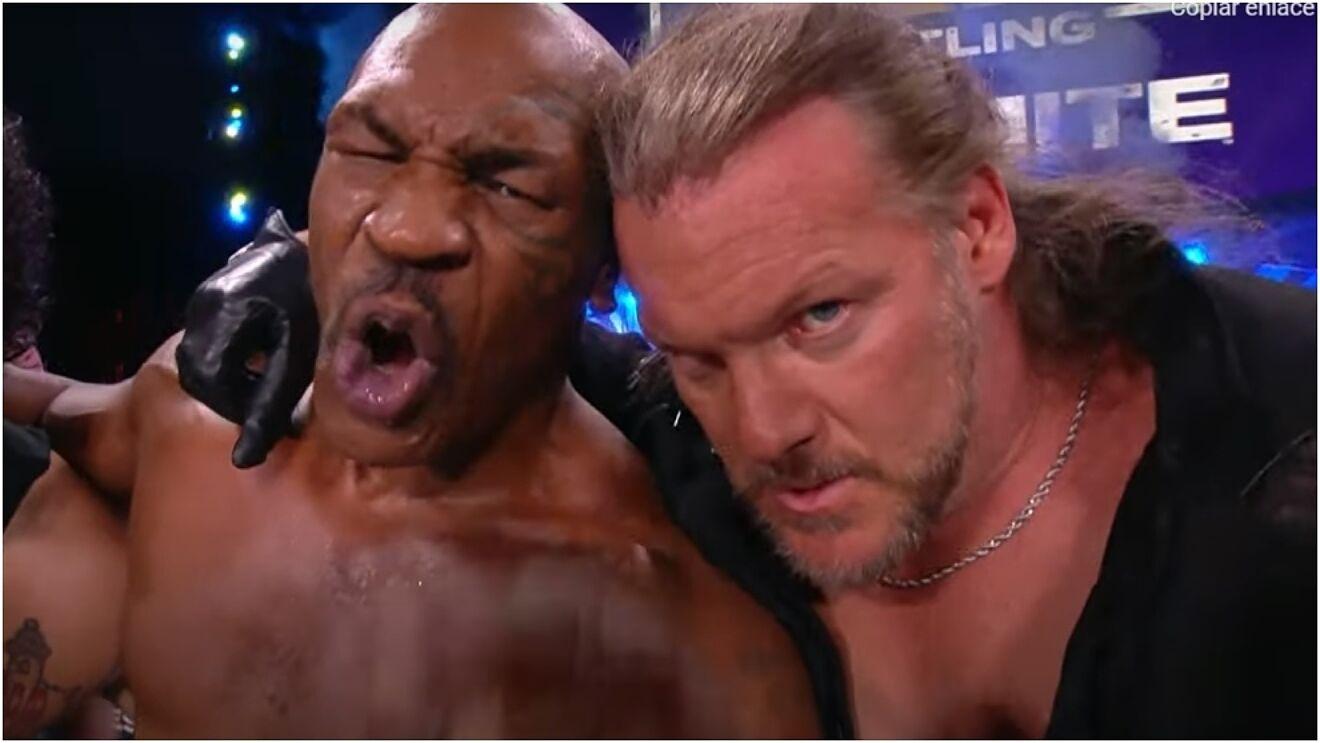 Iron Mike Tyson AEW Dynamite