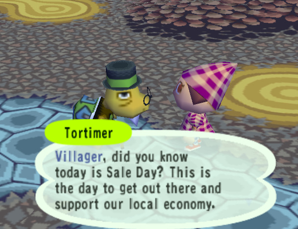 Animal Crossing Nintendo GameCube features