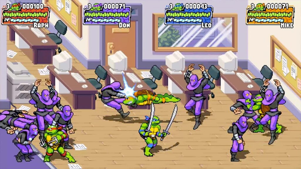 Teenage Mutant Ninja Turtles: Shredders Revenge; indie world
