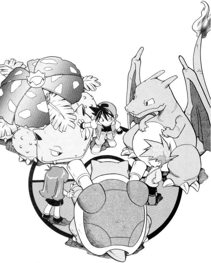 Pokémon Adventures manga