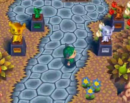 Animal Crossing GameCube trophies