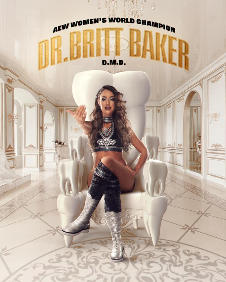 Dr. Britt Baker AEW Double or Nothing