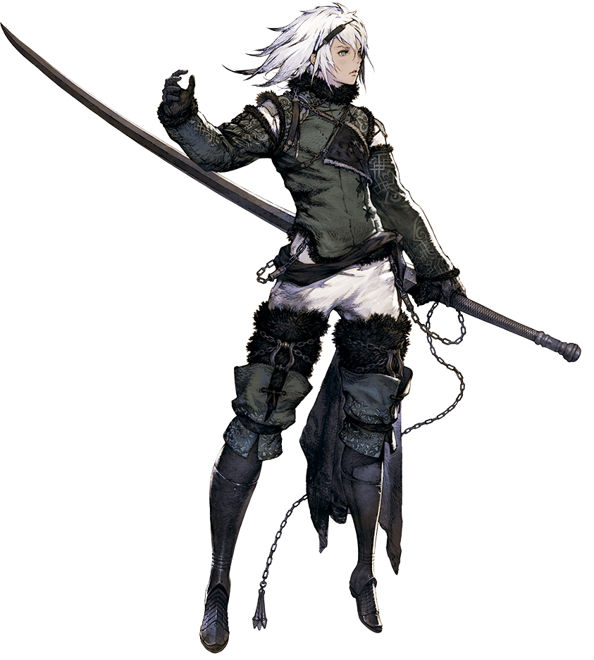 Brother Nier Adult - image courtesy of Nier Wikia